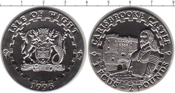 Каталог монет - Остров Уайт 2 фунта