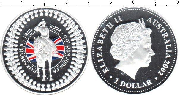Каталог монет - Австралия Золотой юбилей правления Елизаветы