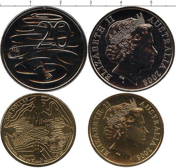 Каталог монет - Австралия Международный год планеты Земля