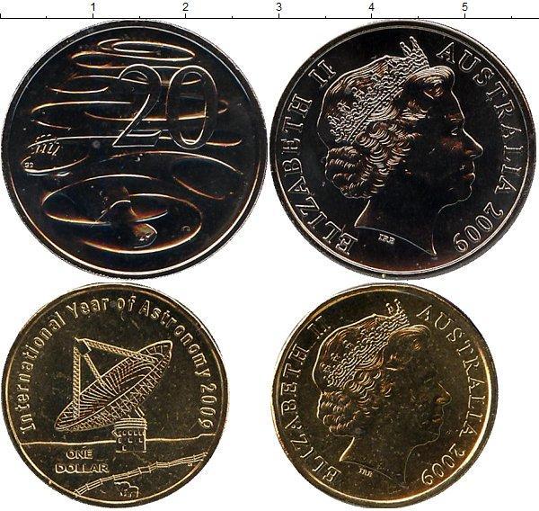 Каталог монет - Австралия Международный год астрономии