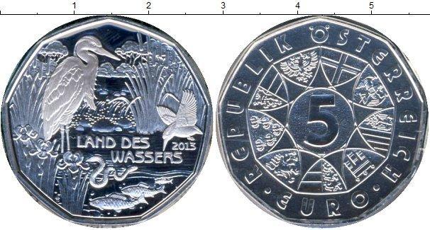 Каталог монет - Австрия Сохранение животного мира