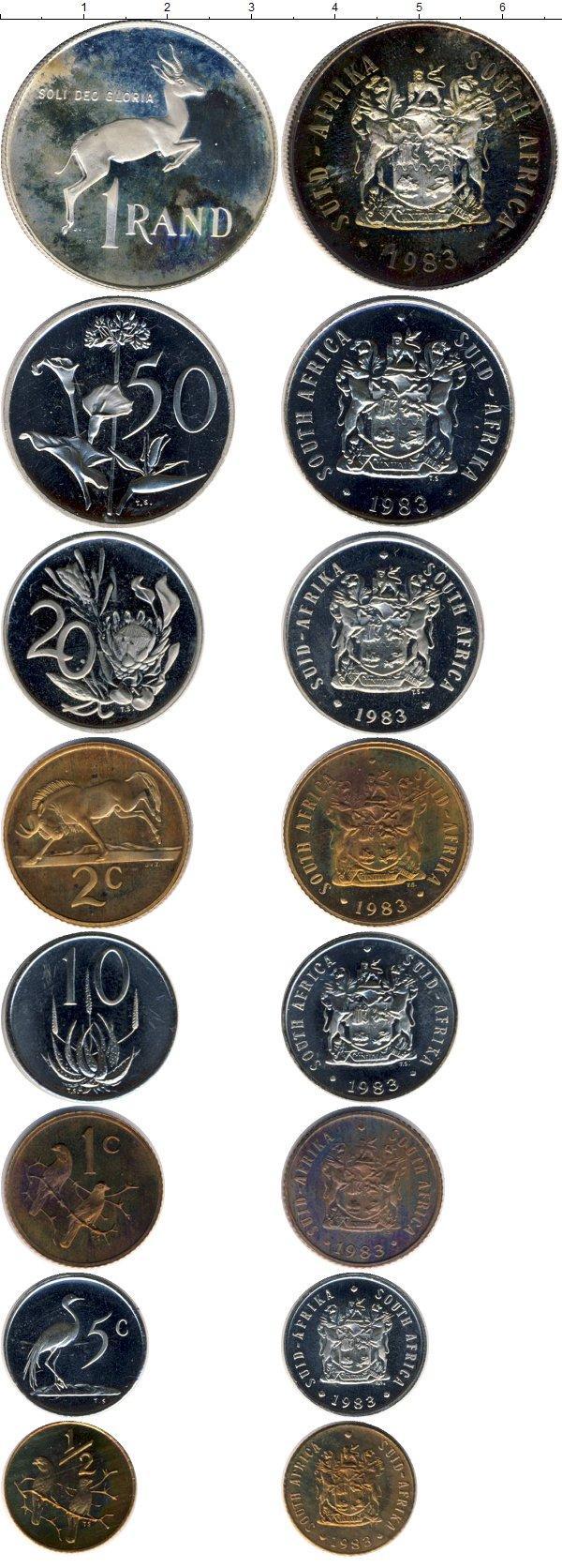 Каталог монет - ЮАР Выпуск 1983 года