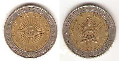 Каталог монет - Аргентина 1 песо