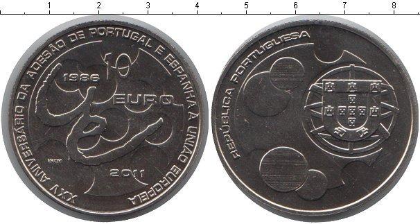 Каталог монет - Португалия 10 евро
