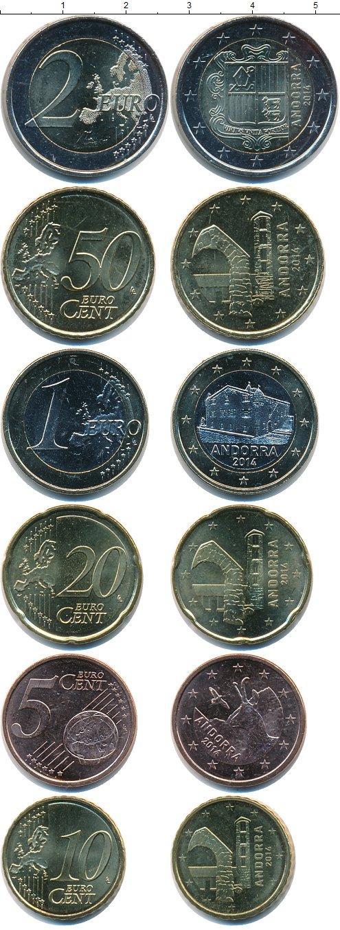 Каталог монет - Андорра Андорра 2014