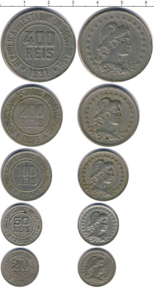 Каталог монет - Бразилия Бразилия 1919-1935