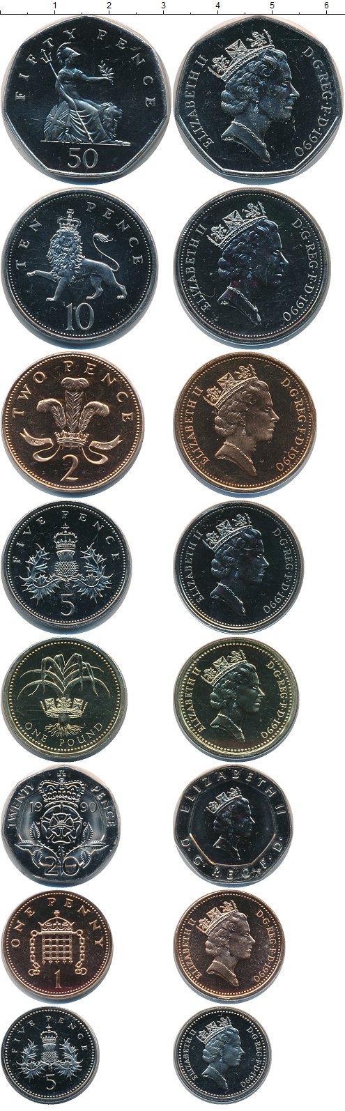 Каталог монет - Великобритания Великобритания 1990