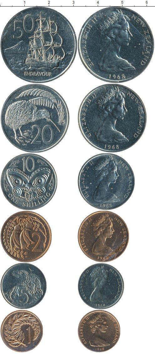 Каталог монет - Новая Зеландия Новая Зеландия 1968