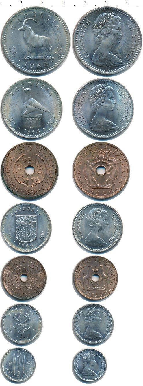 Каталог монет - Родезия Родезия 1963-1968