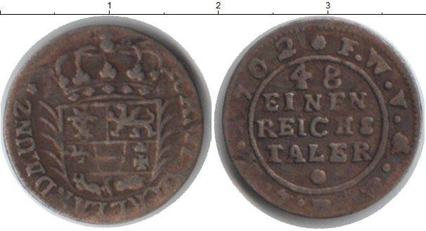 Каталог монет - Мекленбург-Стрелитц 1/48 талера
