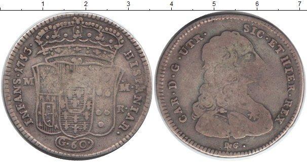 Каталог монет - Неаполь 1/2 пиастра