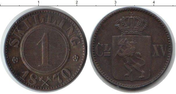 Каталог монет - Норвегия 1 скиллинг