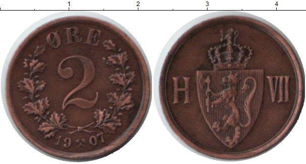 Каталог монет - Норвегия 2 эре