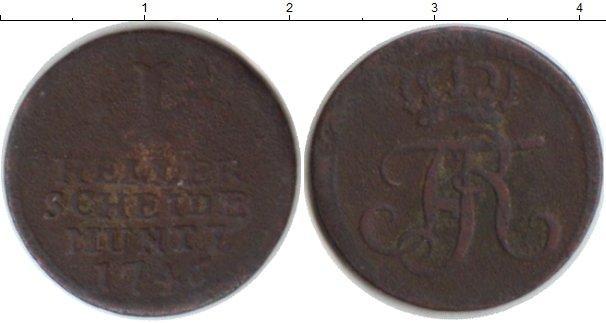 Каталог монет - Пруссия 1 хеллер