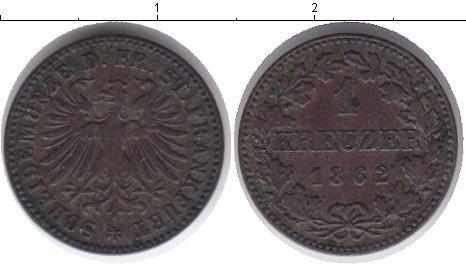 Каталог монет - Франфуркт 1 крейцер