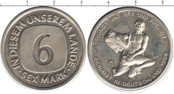 Каталог монет - ФРГ 6 секс марок