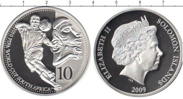Каталог монет - Соломоновы острова 10 долларов