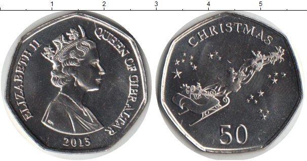 Каталог монет - Гибралтар 50 пенсов