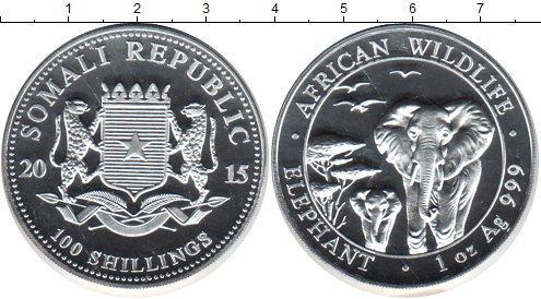 Каталог монет - Сомали 100 шиллингов