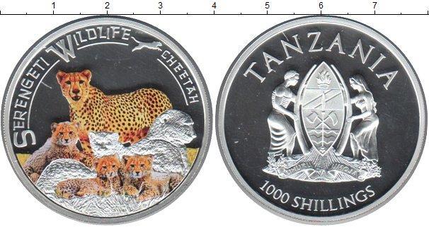 Каталог монет - Танзания 1000 шиллингов