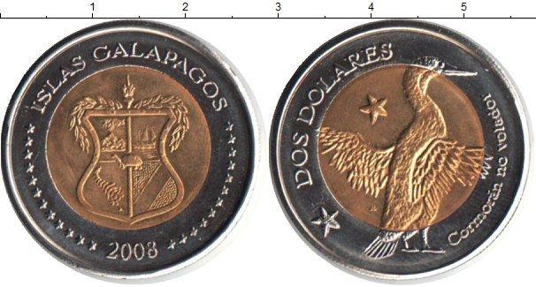 Каталог монет - Галапагосские острова 10 долларов