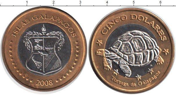 Каталог монет - Галапагосские острова 10 сентаво