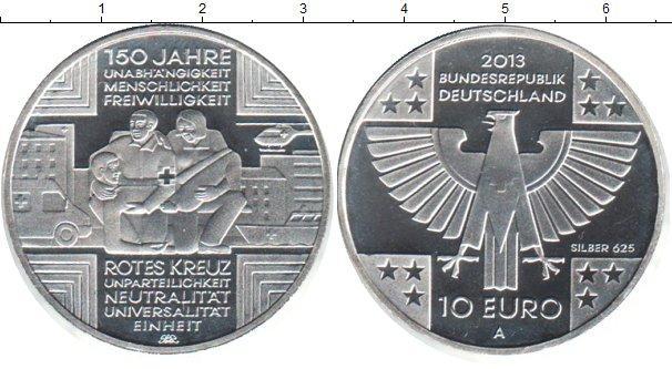 Каталог монет - Германия 10 евро