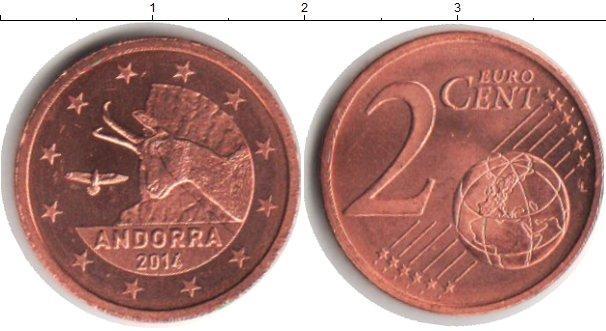 Каталог монет - Андорра 2 евроцента