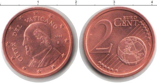 Каталог монет - Ватикан 2 евроцента