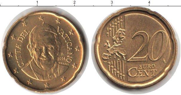 Каталог монет - Ватикан 20 евроцентов
