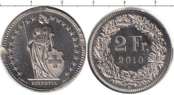 Каталог монет - Швейцария 2 франка