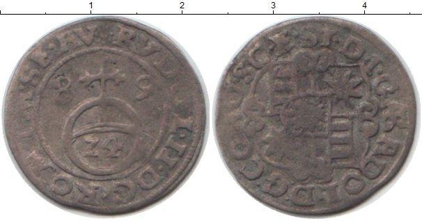 Каталог монет - Саксония 1/24 талера