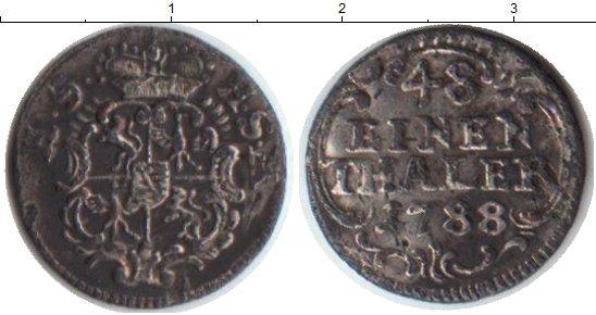 Каталог монет - Саксония 1/48 талера