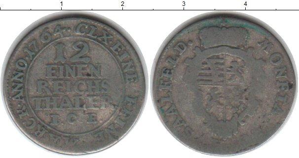 Каталог монет - Саксен-Кобург-Саалфелд 1/12 талера