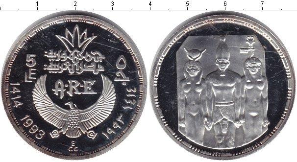 Каталог монет - Египет 5 фунтов
