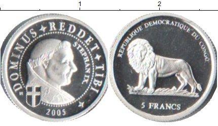 Каталог монет - Конго 5 франков