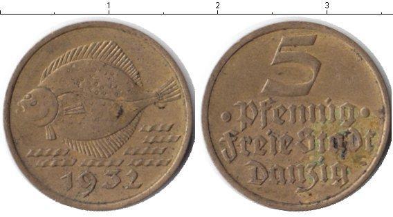 Каталог монет - Данциг 5 пфеннигов