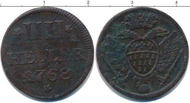 Каталог монет - Кёльн 4 пфеннига