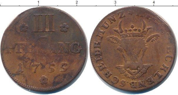 Каталог монет - Мекленбург-Стрелитц 3 пфеннига
