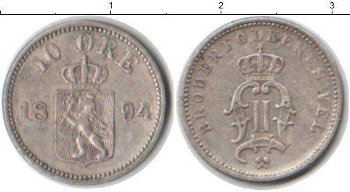 Каталог монет - Норвегия 10 эре