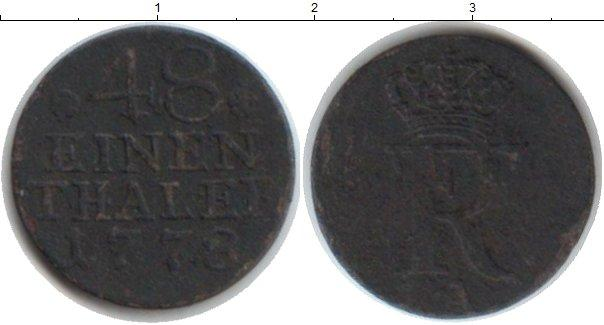 Каталог монет - Пруссия 1/48 талера