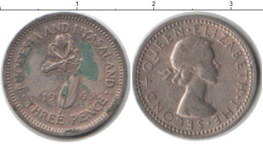 Каталог монет - Родезия 3 пенса
