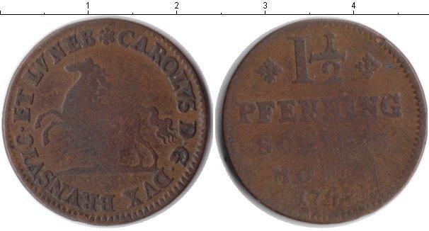 Каталог монет - Брауншвайг-Люнебург 1 1/2 пфеннига