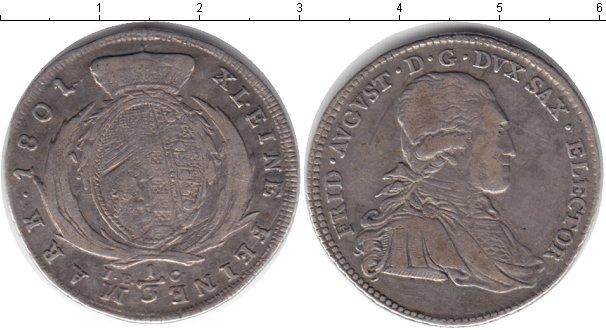 Каталог монет - Саксония 1/3 талера