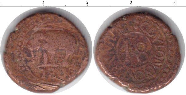 Каталог монет - Цейлон 1/24 риксдоллара