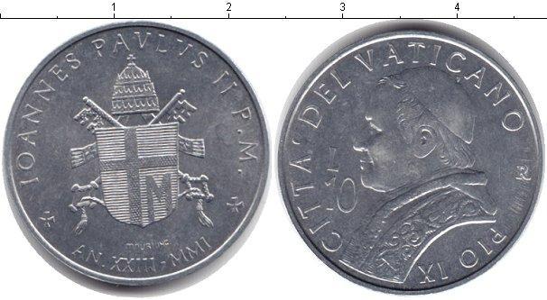 Каталог монет - Ватикан 10 лир