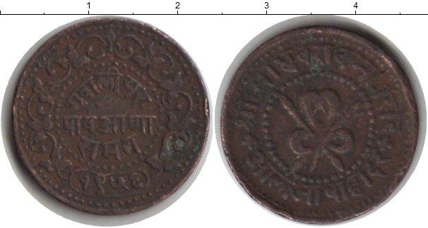Каталог монет - Гвалиор 1/2 пайса
