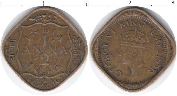 Каталог монет - Индия 1/12 анны