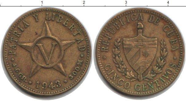 Каталог монет - Куба 5 сентаво