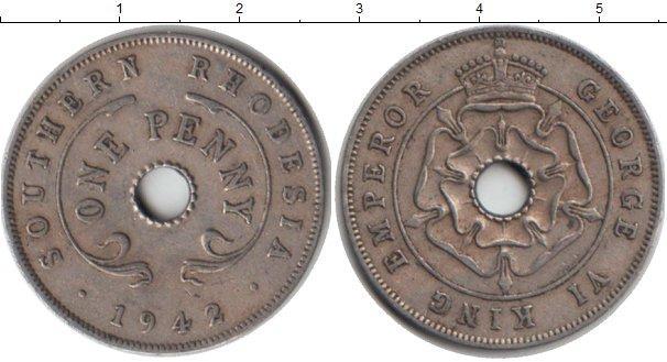 Каталог монет - Родезия 1 пенни